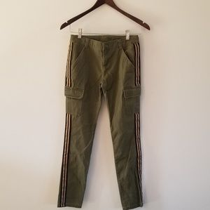 Crazy 8 Girls Cargo Olive Green Pants size 12